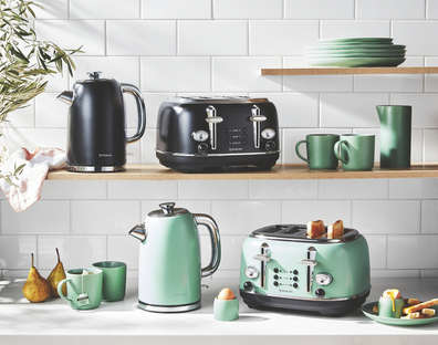 Aldi Stirling retro style kettle and toaster
