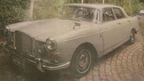 Ronald McMaster was last seen driving is unique light grey 1965 Austin sedan with registration plates 987 84H.