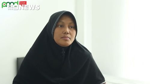 Indonesian woman Lasmiati wants to see the end of Islamic State. (BNPT)