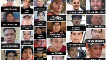 Photos of the 40 Gulf Livestock 1 crew members who are still missing.