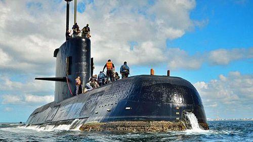 The missing San Juan submarine. (Photo: Argentine navy).