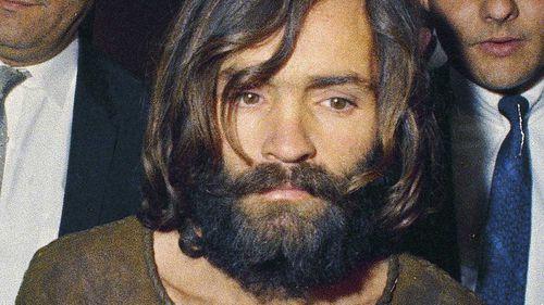 Charles Manson in 1969. (AAP)