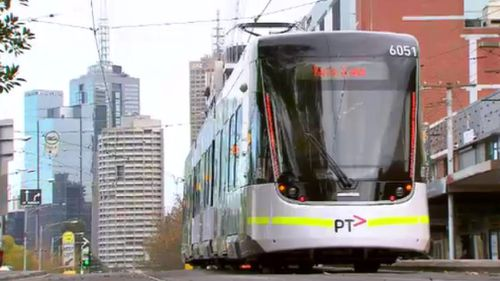 "It's hoped the new tram line will provide a ""missing link"" to the city's south-eastern suburbs. (9NEWS)"