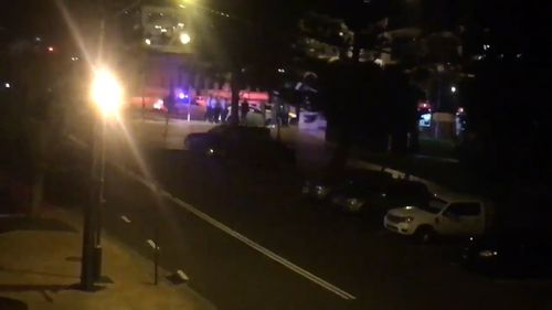 Three people were arrested. (9NEWS)