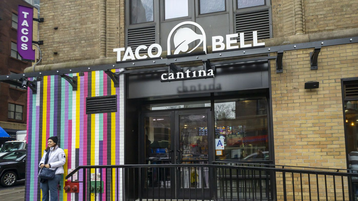 Taco Bell logo from New York outlet.