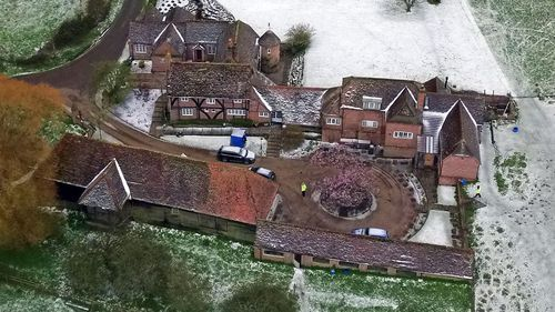 The bodies were found at the couple's home in Bucklebury, Berkshire - the same village where the parents of the Duchess of Cambridge live.