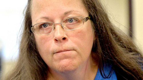 US clerk who refused gay marriage licenses freed
