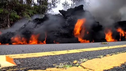 Toxic gas has poured into the air and powerful tremors have shaken the Big Island.