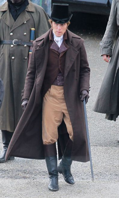 Jack Farthing as 'George Wargleggan' seen filming Poldark on September 15, 2017 in Cornwall, England