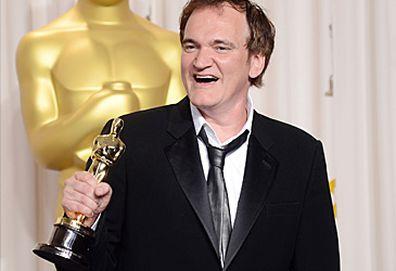 Quentin Tarantino with Oscar (Getty)