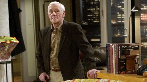 John Mahoney as Martin Crane in final episode of Frasier (AAP).