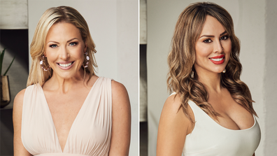 Real Housewives of Orange County stars Braunwyn Windham-Burke and Kelly Dodd.