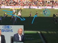 'Freeze it there': Sterlo analyses Dufty's stellar try