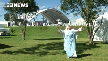 9RAW: Rapping nun to perform for Pope Francis