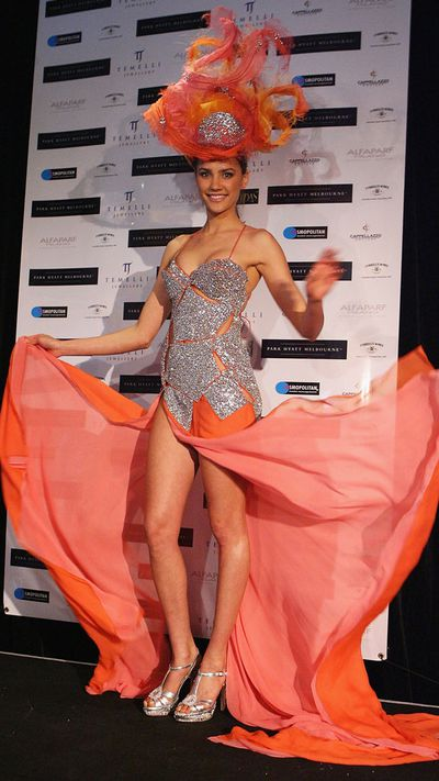 Miss Universe Australia costume: 2009