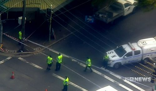News Sydney Crows Nest person killed cement truck accident