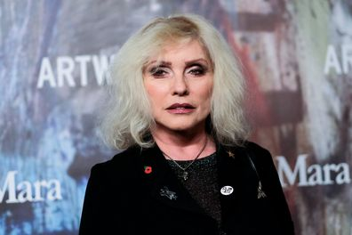 Debbie Harry, red carpet