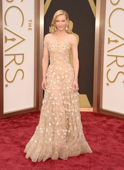 Cate Blanchett in Armani Privé at the Oscars Awards  in California, March, 2014