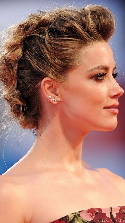 Amber Heard at the screening of <em>The Danish Girl</em>.