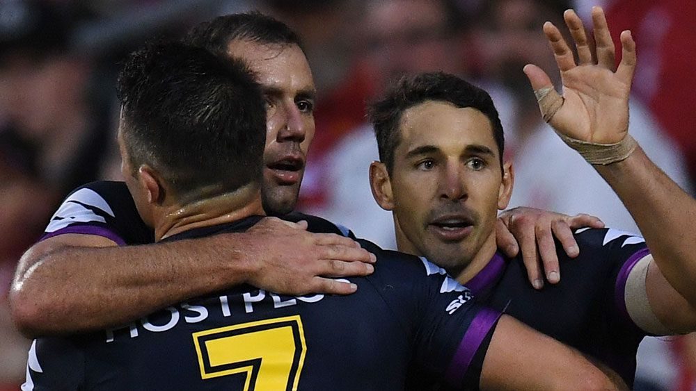 Cameron Smith, Cooper Cronk and Billy Slater the reason behind Melbourne's success