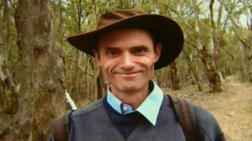 """""""He was an outdoor man,"""" Ms Trease said of her partner, Mr Williams. (9NEWS)"""