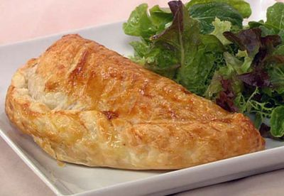 Mushroom and bacon pasties
