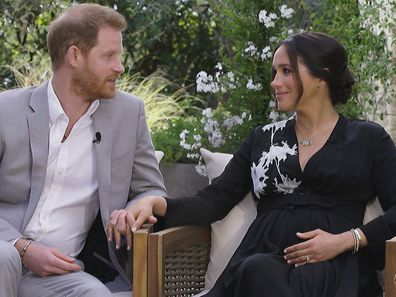 Prince Harry and Meghan Markle talk to Oprah