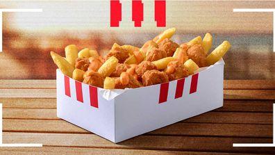 KFC snack pack