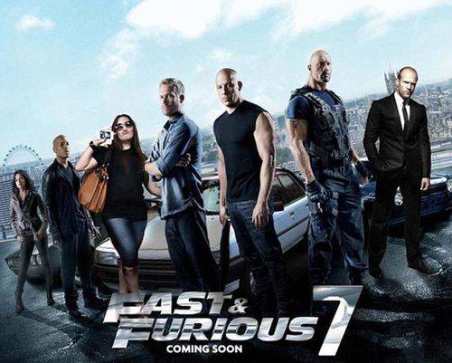 The Toyota can be seen behind the cast of Fast and Furious on the movie's poster. (Gumtree)
