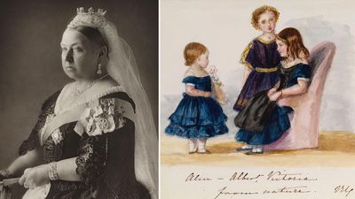 Queen Victoria, sketching and painting