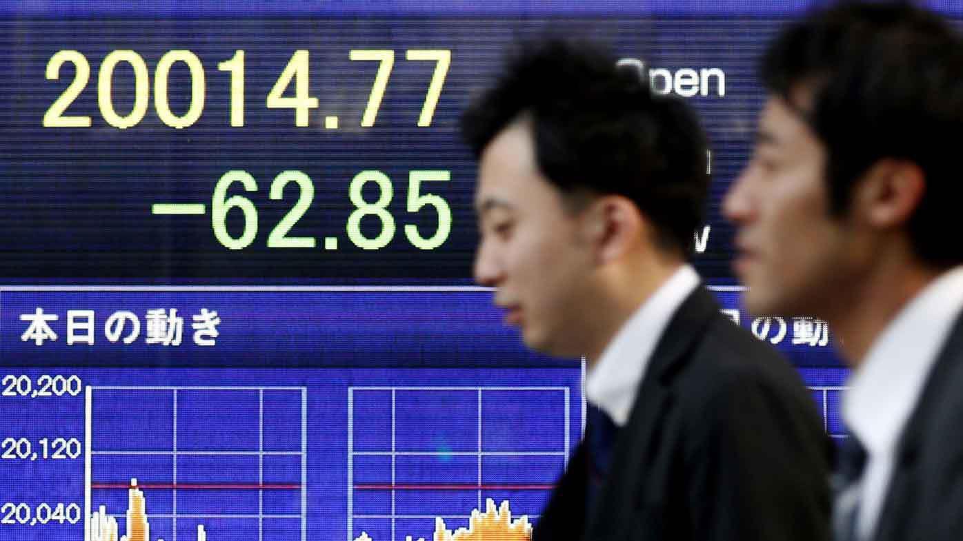 The Japanese stock market