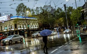 Wet October continues, with scattered storms and showers