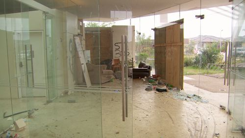 The privately-owned facility has become a graffiti-covered mess. (9NEWS)