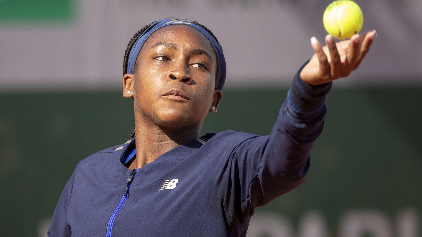 U.S. teenager Cori Gauff makes Wimbledon history