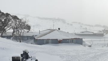 This image of a Perisher Valley winter wonderland was sent in by Duane Burke,