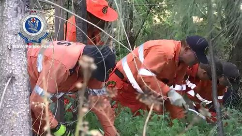 Investigators have scoured bushland where Ms Ardler's bones were found in May and issued a warning to the suspected murderer. Picture: Supplied.