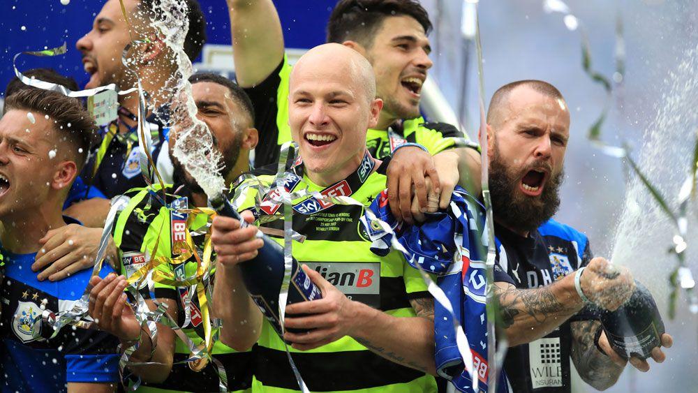 Socceroo Aaron Mooy savours 'amazing' Huddersfield Town promotion to EPL