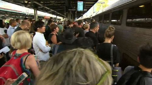 Sydney Trains blamed the delays on the weather, staff shortages and the introduction of a new timetable. (9NEWS)