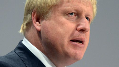 British Foreign Secretary Boris Johnson. (AP).