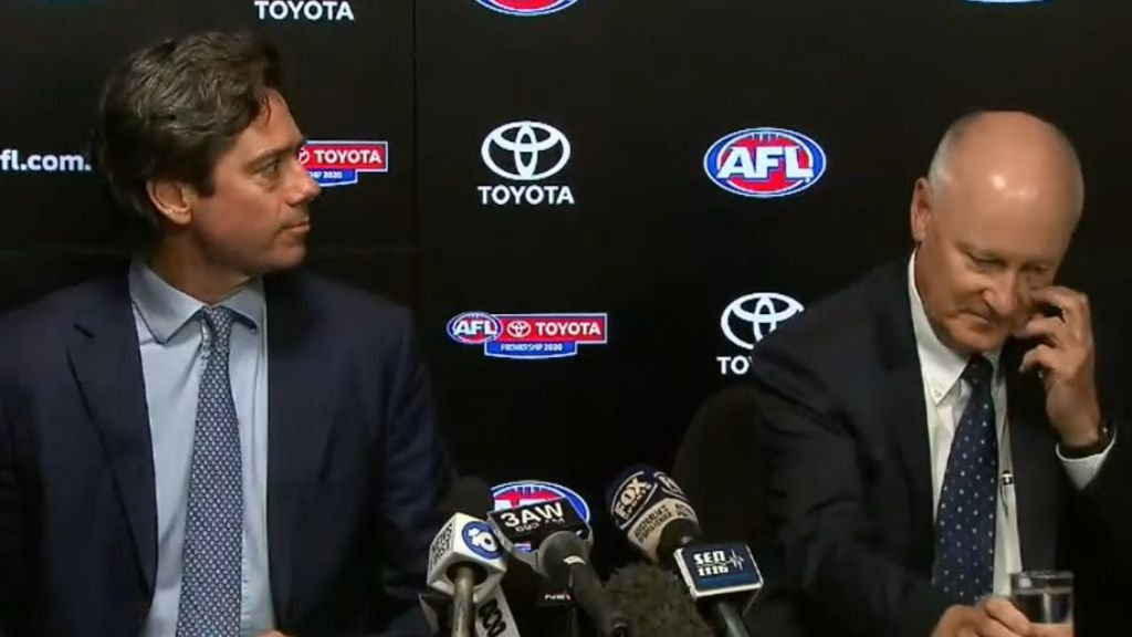 'It's moving fast': AFL reveal possible coronavirus impact on footy