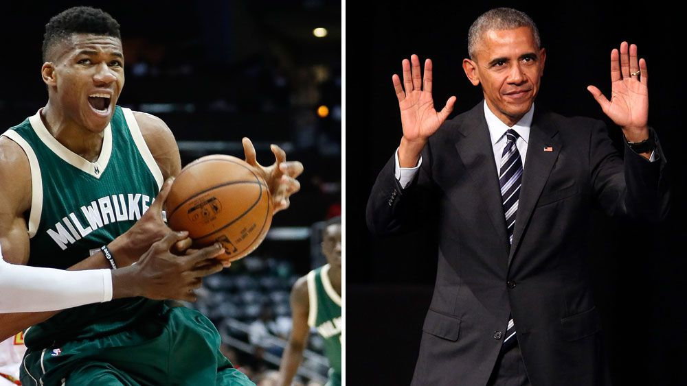 Barack Obama slips up while taking on the NBA's trickiest name