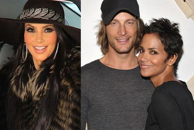 """According to <i>People</i> magazine, Kim and <b>Gabriel Aubry</b> have been """"dating a little bit."""" <br/>"""