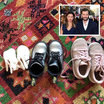Jamie Dornan and Amelia Warner have another baby girl