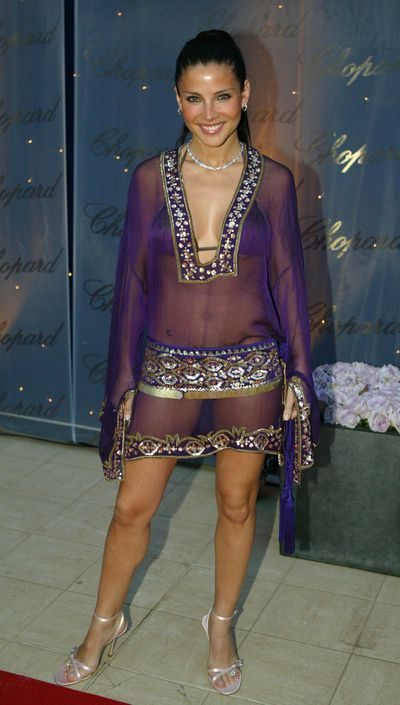 Elsa Pataky at the Chopard Trophy party at Palm Beach in Cannes in 2004