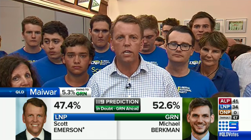 Could Greens boot Emerson in first-ever Queensland seat victory?