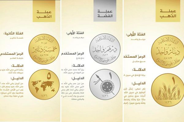 ISIL's planned currency.