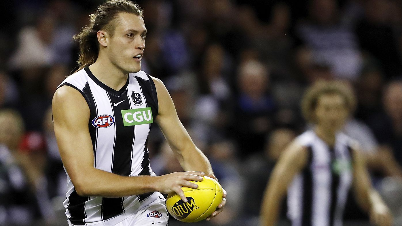 Collingwood's Darcy Moore to miss the rest of the 2021 season with knee injury