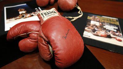Muhammad Ali's gloves