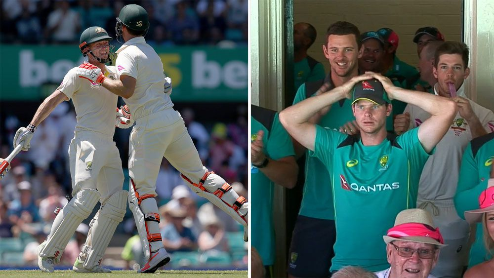 Shaun and Mitchell Marsh, and Steve Smith.