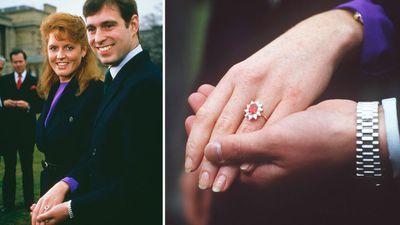 Sarah, Duchess of York's engagement ring